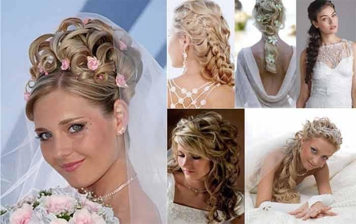 Эффектные свадебные прически с накладными волосами