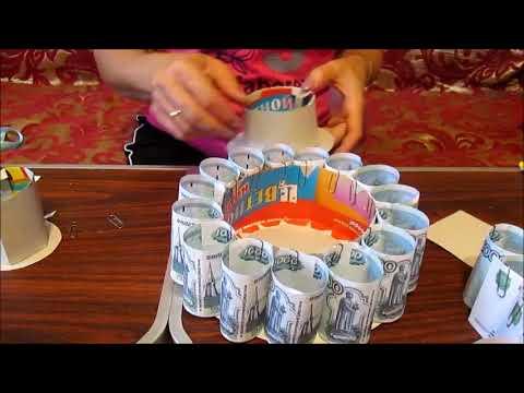 Идеи подарков из денег