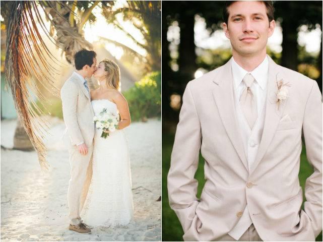 Мятно персиковая свадьба