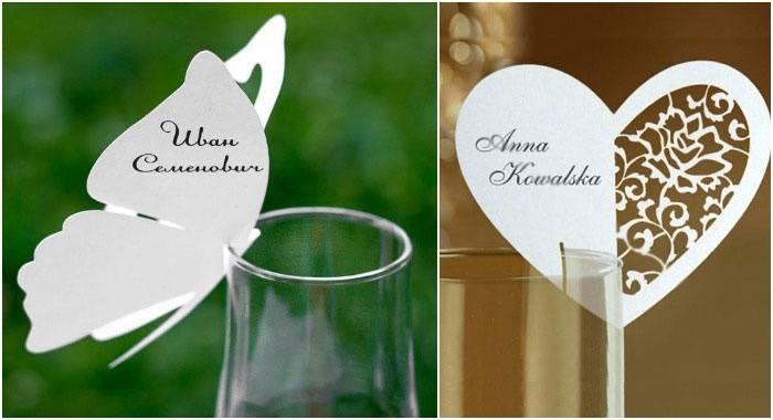 Номера на столы на свадьбу своими руками: шаблоны карточек и табличек