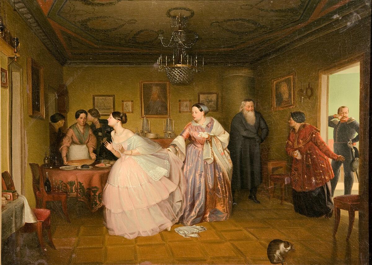 Обряд сватовства невесты сценарий