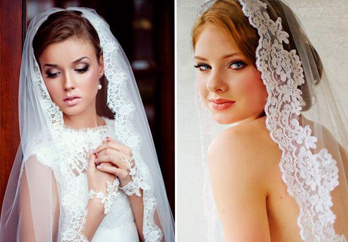 Лучшие свадебные прически с фатой: как выбираем свадебный образ