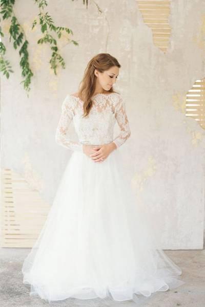 Узкие платья на свадьбу