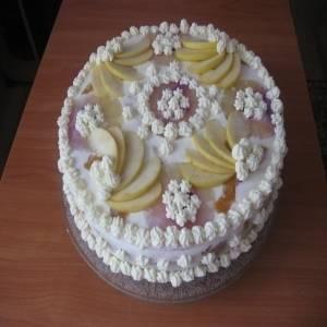 Можно ли украсить торт замороженными ягодами