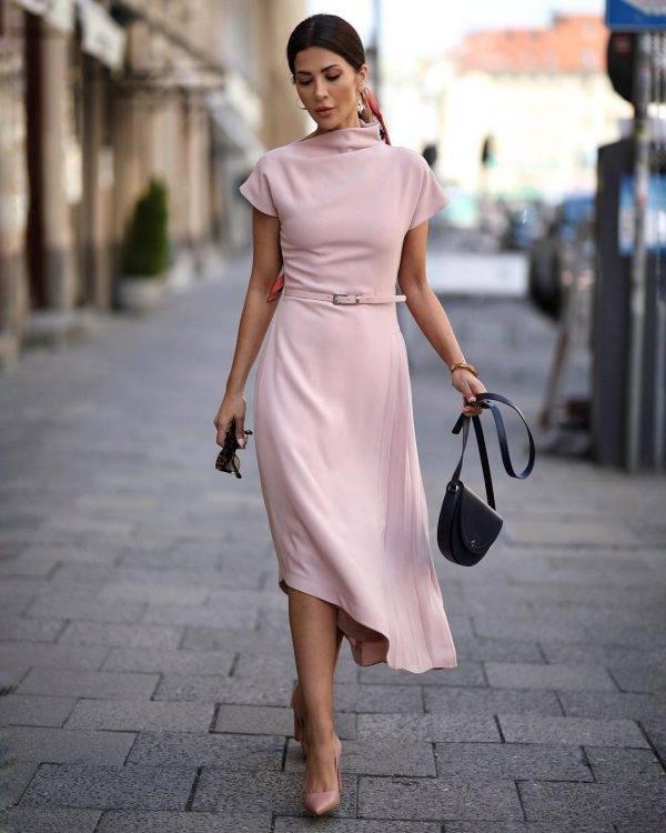 Самые красивые элегантные платья 2020-2021 — фото идеи