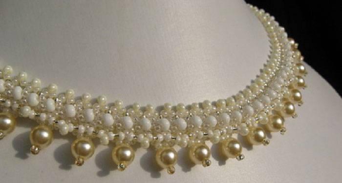 Свадебные украшения из бисера, как изготовить самостоятельно