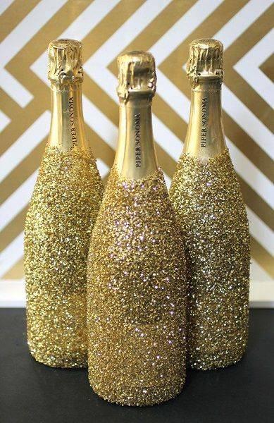 Декорирование бутылок своими руками (50 фото): оригинальные идеи украшения