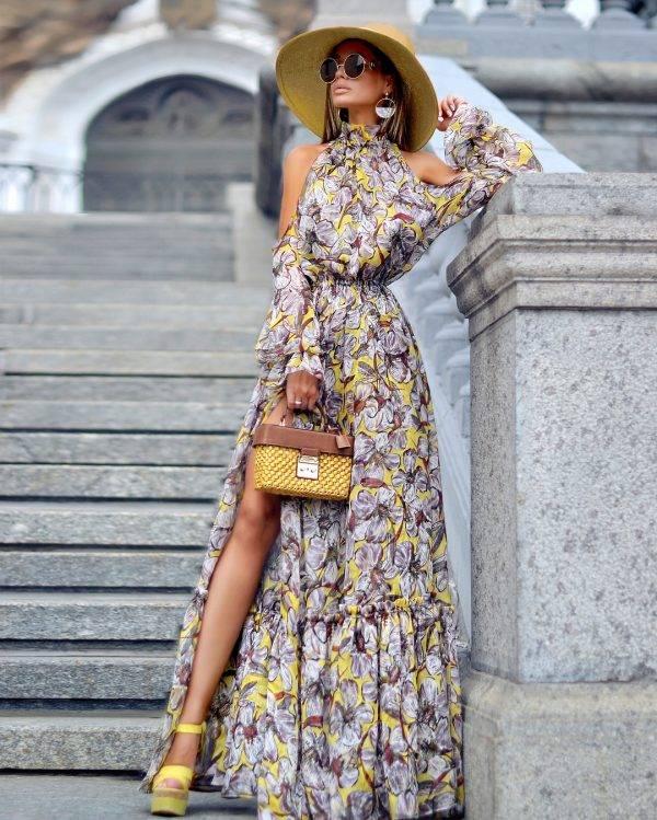 Вечерние платья с открытой спиной – провокационные и соблазнительные