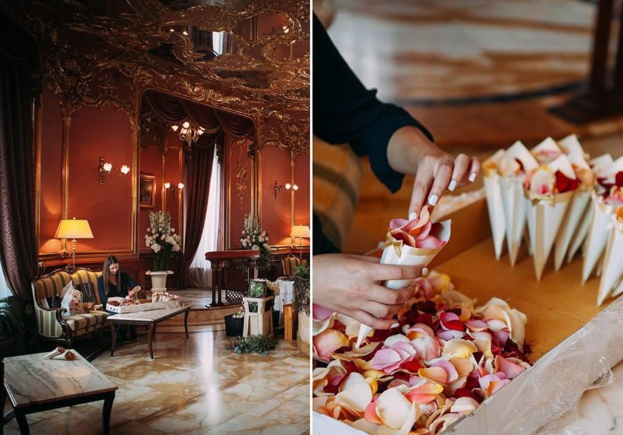 Свадьба в отеле, правила ее организации