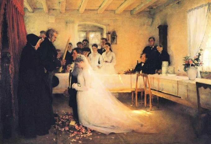 Благословение родителями молодоженов на свадьбе: что говорить и что делать