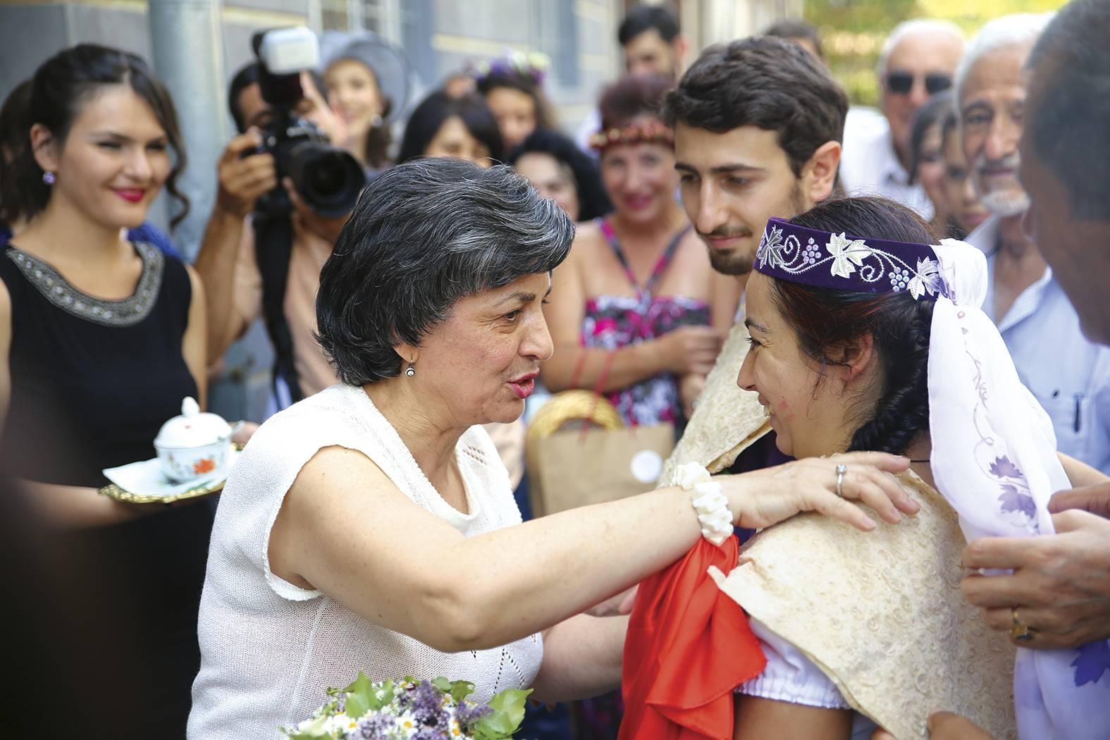 Современная армянская свадьба