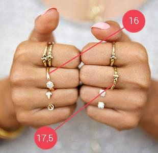 Таблица как узнать размер кольца на палец у девушки незаметно