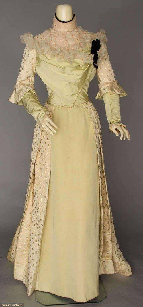Ткань золотая парча и новогодние платья из парчи фото