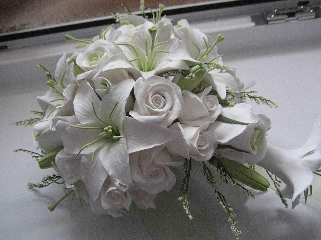 Свадебный букет из орхидей своими руками – это возможно