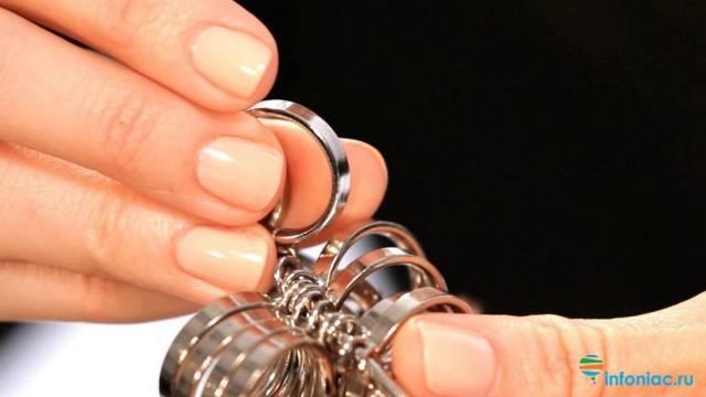 Как узнать размер пальца для кольца у мужчины? как определить его с помощью нитки? как измерить мужской палец бумагой в домашних условиях?