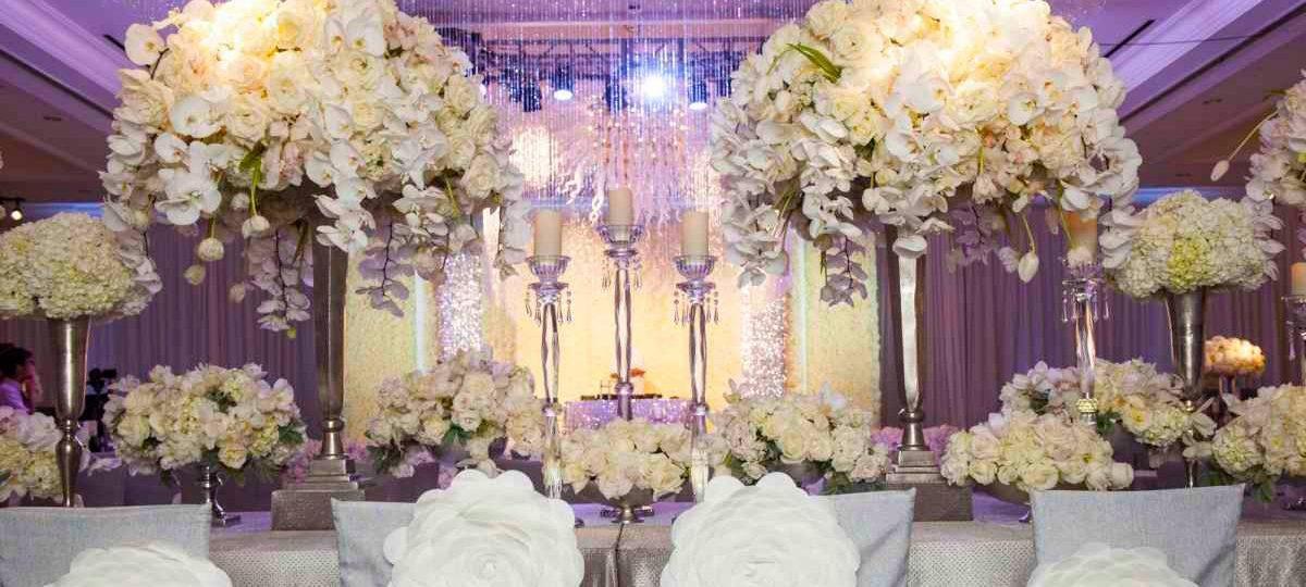 Оформление свадьбы шарами — секреты красивого банкета (фото)