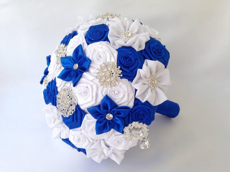 Идеи оформления букета невесты из атласных лент своими руками
