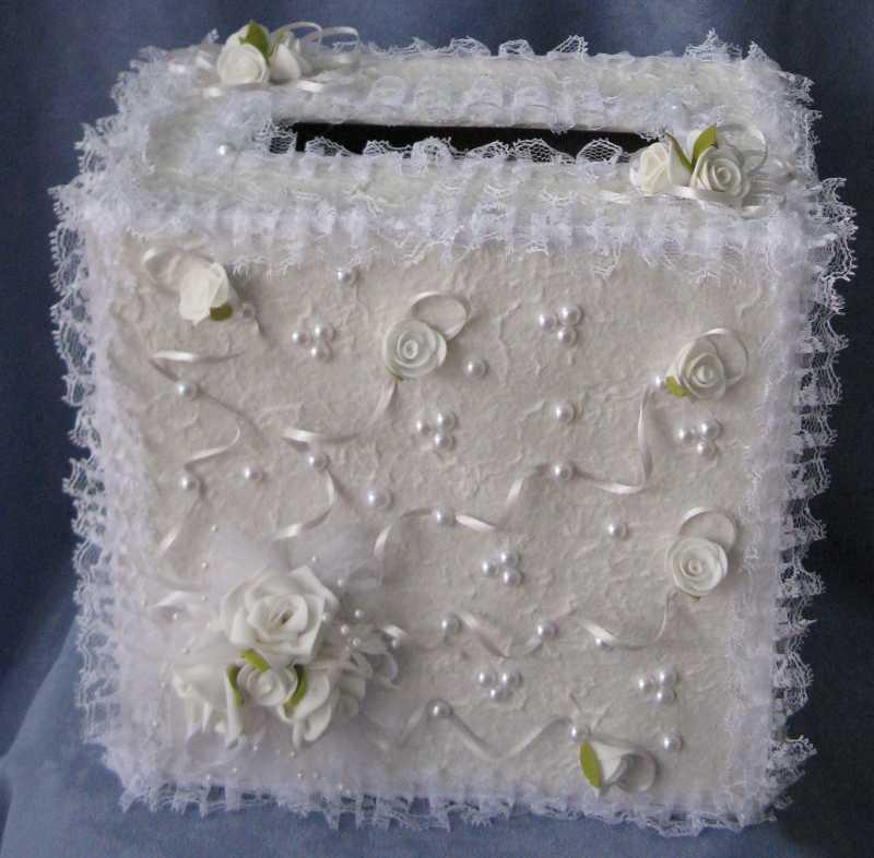 Как изготовить шкатулку для денег на свадьбу своими руками