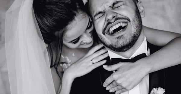 Белое платье на свадьбе