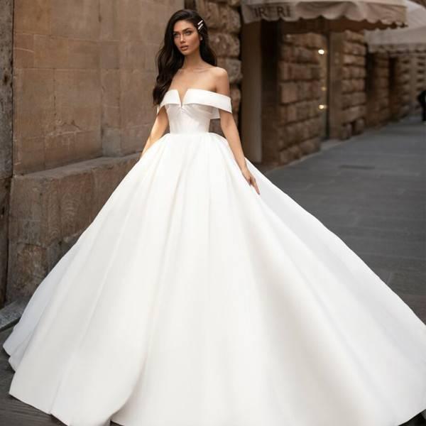 Модные свадебные платья 2020-2021: тенденции, новинки, фото, тренды