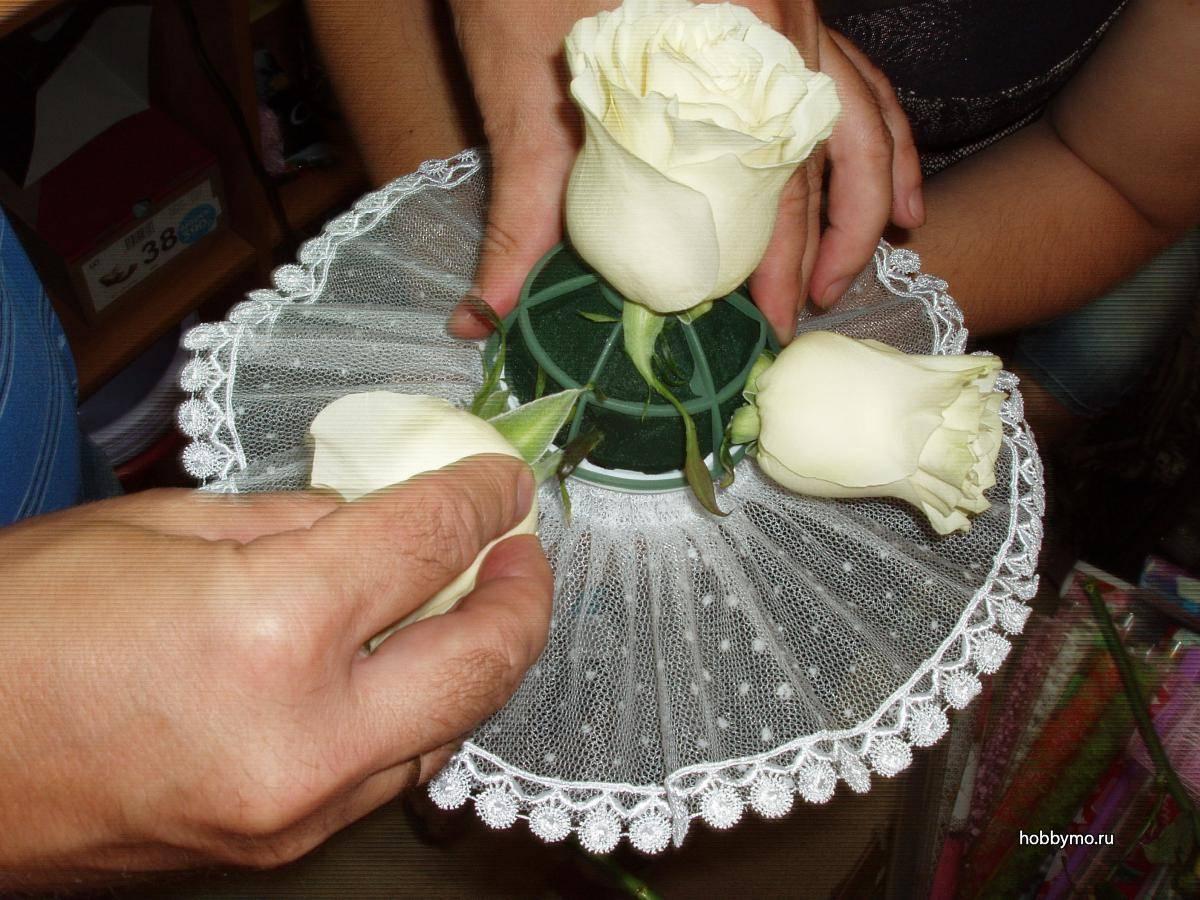 Искусственные свадебные букеты