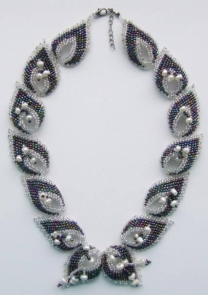 Бисероплетение колье и ожерелья – схемы, мастер класс + описание техники (фото идеи)