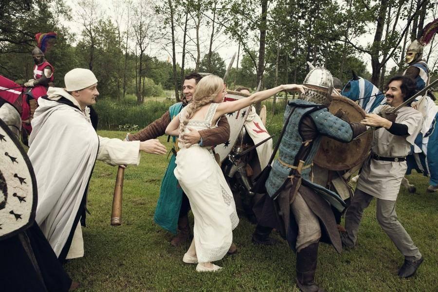 Похищение невесты: традиции и современность