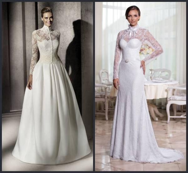 Свадебные платья для венчания в церкви: основные правила и варианты (21 фото)