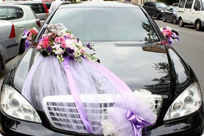 Как красиво нарядить свадебный автомобиль