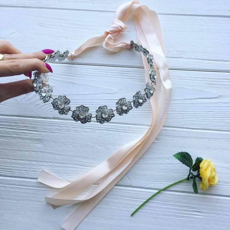 Свадебное украшение своими руками из бисера с фото