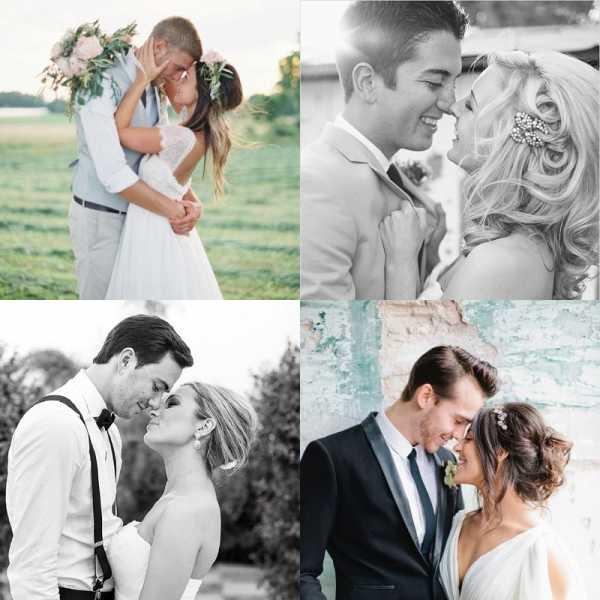 Идеи для создания красивых свадебных фотографий жениха и невесты в 2020 году