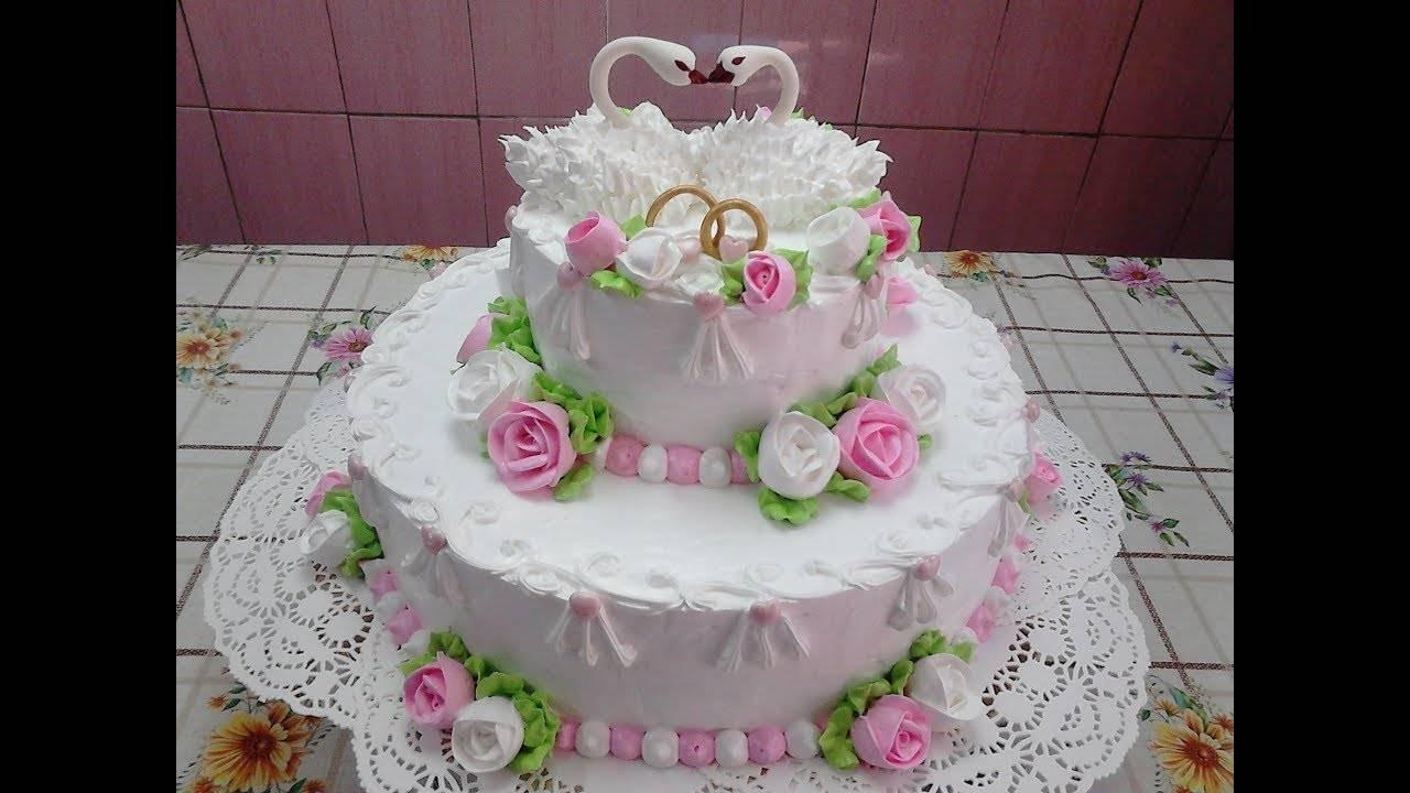 Интересные идеи для торта на серебряную свадьбу