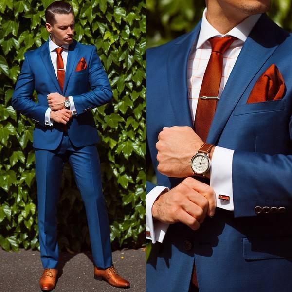 Модные мужские галстуки осень-зима 2019-2020 фото