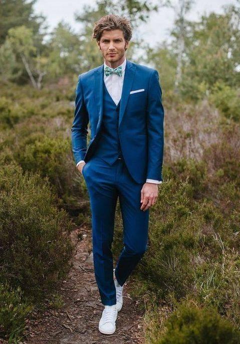Мужские свадебные костюмы: советы по выбору, фото