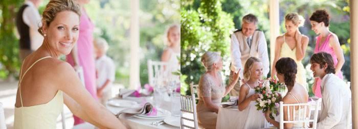 Стильное оформление свадьбы в цвете