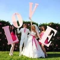 Фотозона на свадьбу своими руками: 5 мастер-классов