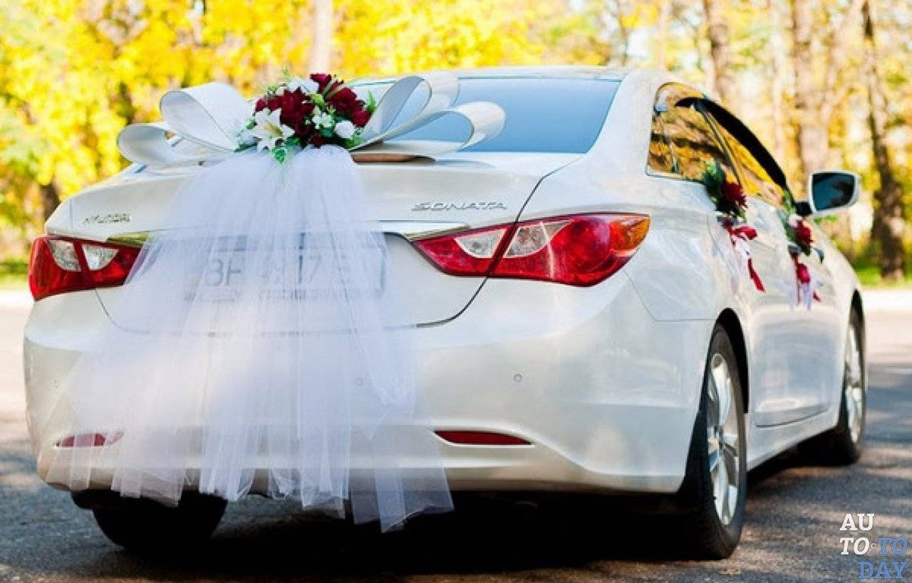 Украшения машины на свадьбу — 58 фото оригинальных вариантов декора своими руками