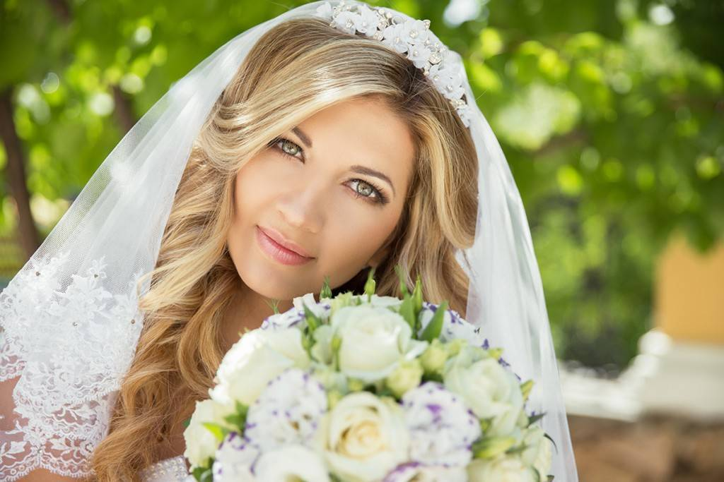 Как выбрать фату невесты