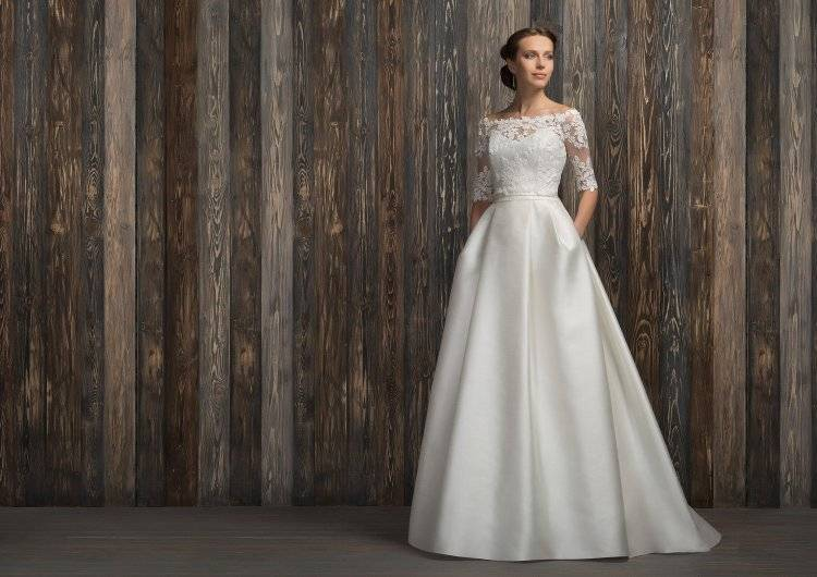 Как выбрать свадебное платье для венчания?