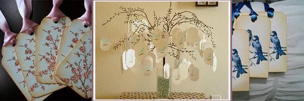 Дерево пожеланий своими руками: на свадьбу, день рождения, юбилей, выпускной в детском саду. варианты дерева пожеланий: фото