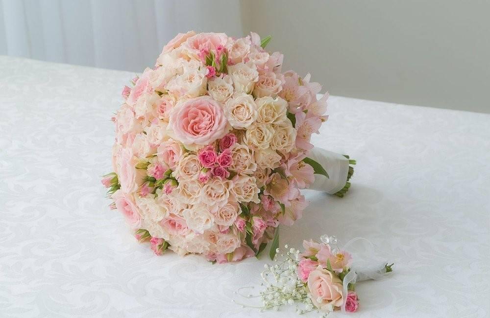 Букет невесты: 88 фото с разными цветами