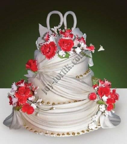 Свадебные торты фото 2017