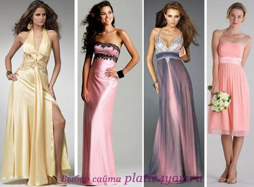 Платье свидетельницы – какой цвет и фасон выбрать на свадьбу, фото