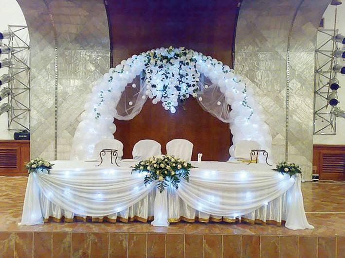 Оформление зала на свадьбу своими руками: фото идеи. как украсить комнату невесты перед свадьбой. фото обзор