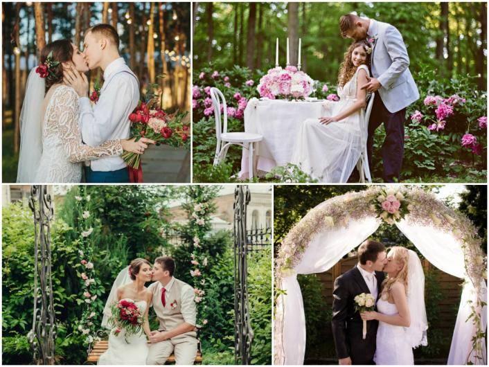 Организация свадьбы на природе: советы и идеи