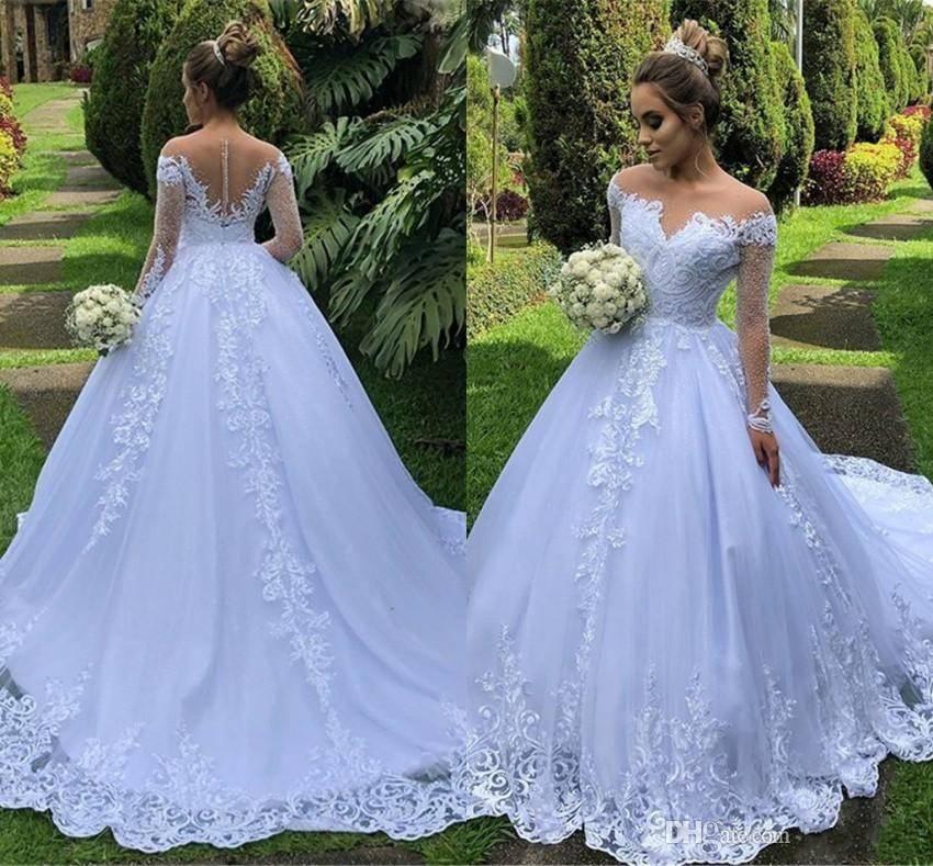 Пышные свадебные платья: выбираем «королевский» наряд