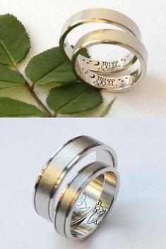 Красивые парные обручальные кольца: фото, идеи и советы по выбору