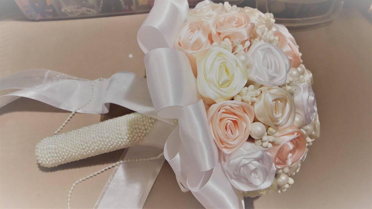 Осенний свадебный букет невесты – фото