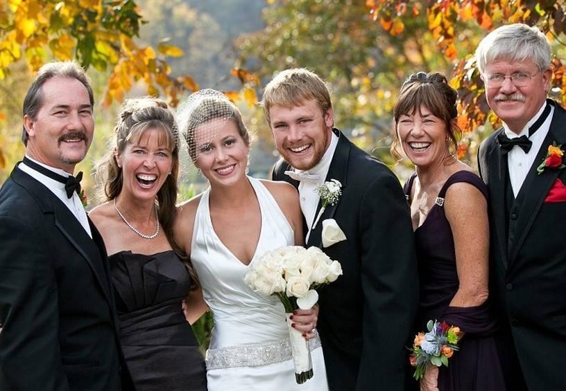Слова позравления и благодарности на свадьбе родителям, от невесты, от жениха, в прозе, стихах