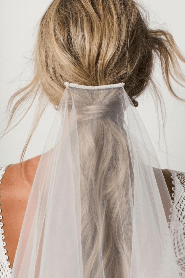 Новые идеи – модные свадебные прически 2018